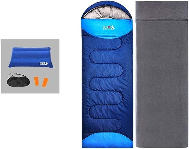 ZCF Sac de Couchage en Plein air pour Adulte Sac de Couchage en Coton pour Camping Tente Adulte (Couleur   B)