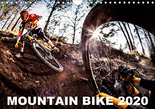 Mountain Bike 2020 by Stef. Candé/UK-Version (Wall Calendar 2020 DIN A4 Landscape)