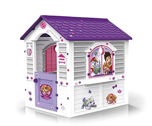 Chicos - Patrulla Canina Skye Casita Infantil de Exterior, Blanca con tejado púrpura (La Fábrica...