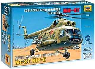 """Zvezda 1/72 Zvezda No.7230 Soviet Multi-Role Helicopter Mil Mi-8T """"Hip C"""""""
