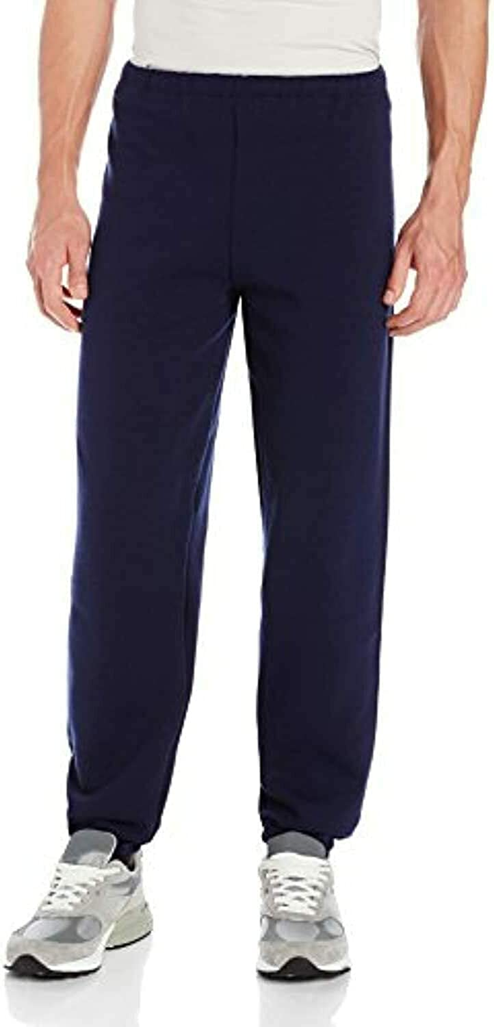 Russell Athletic Men's Big & Tall Solid Dri-Power Jogging Pant