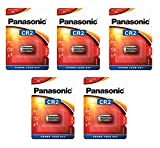 Corp. Panasonic Pila de Litio CR2 3V - Blister 1 x5 - Paquete 5 Blister