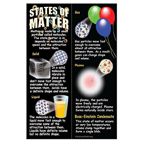 McDonald Publishing States of Matter Smart Bookmarks 36/Pkg