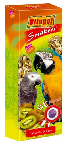 ZVP-2705 Maxi SMAKERS for Big Parrots - Kiwi