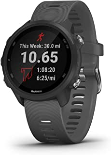 Garmin Forerunner 245 Rubber Smart Watch (Black)