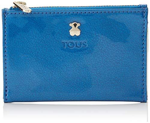 TOUS 995960253, Monedero para Mujer, Azul (Azul), 11.5x8x1 cm (W x H x L)