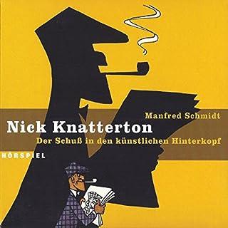 Der Schuss in den künstlichen Hinterkopf (Nick Knatterton 1) Titelbild