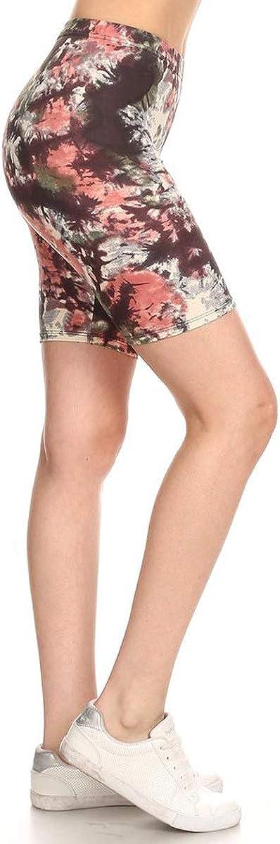 Leggings Depot Printed Fashion Bargain sale Shorts Biker 2021 model