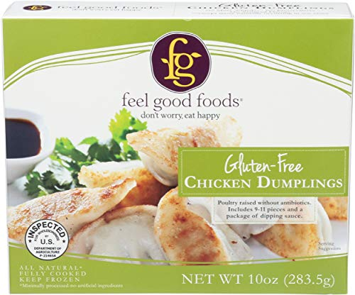 Feel Good Foods, Potstickers Chicken Gluten Free, 10 Ounce