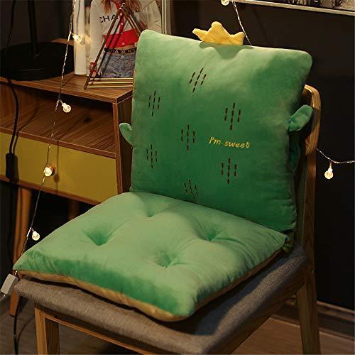 CaoQuanBaiHuoDian rugstoelkussen, extra zacht zitkussen voor schommels, restaurants, patio, camping, keukenstoelen bieden meer comfort