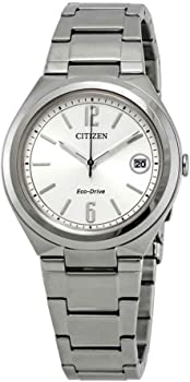 Citizen Chandler Eco-Drive Silver Dial Ladies Watch