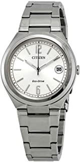 Citizen Chandler Eco-Drive Silver Dial Ladies Watch FE6021-88A