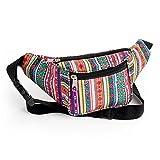 Riñonera tribal, cinturón de dinero, festival, festival, festival, festival, bolsa de billetera.