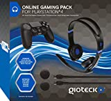 Gioteck Online Gaming Pack for PS4