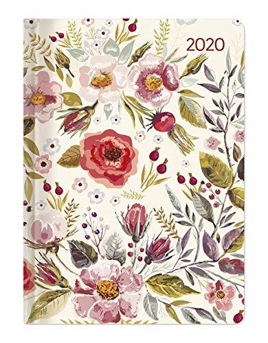Ladytimer Flower Field 2020 - Taschenkalender A6 (11 x 15) - Weekly - 192 Seiten - Notizbuch - Terminplaner