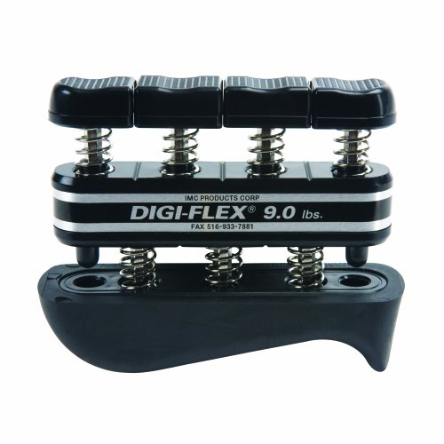 DigiFlex100744 Black Hand and Finger Exercise System 9 lbs Resistance