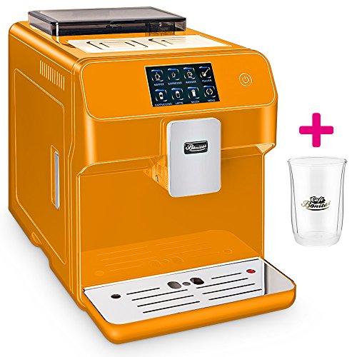 ☆ONE TOUCH☆ Kaffeevollautomat✔ 1 Thermoglas Gratis✔ CAFE BONITAS✔ Kingstar Orange ✔ Touchscreen✔ Timer✔ 19 Bar✔ Kaffeeautomat✔ Latte Macchiato✔ Kaffee✔ Espresso✔ Cappuccino✔ heißes Wasser✔ Milchschaum✔