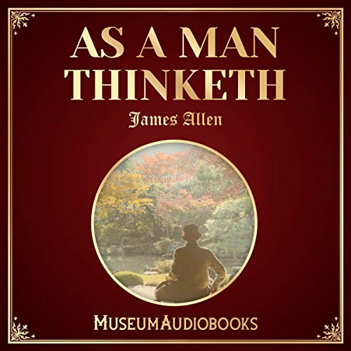 As a Man Thinketh audiobook cover art