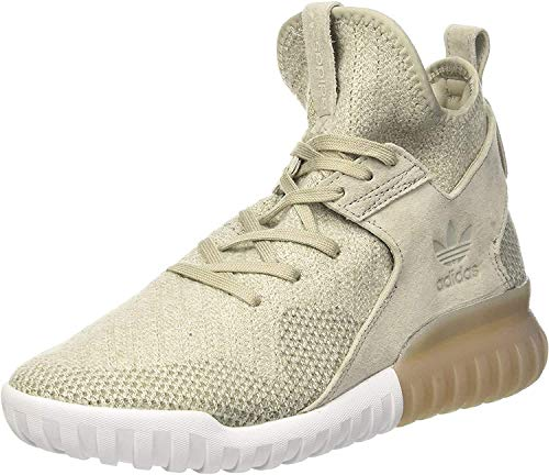 adidas adidas Herren Tubular X PK Basketballschuhe, Mehrfarbig (Sesame/cbrown/tracar), 40 EU