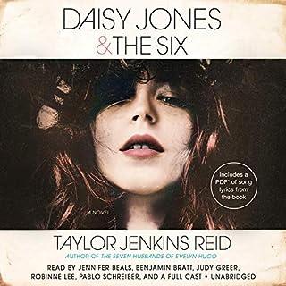 Daisy Jones & The Six audiobook cover art