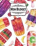 Mon Budget: Carnet Budgétaire - A4 - 145 pages – 1 an - Collection Bonbons, Gateaux et Macarons !