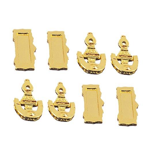 Juegos de Casa de Muñecas Cerradura Buzones Correo Ranura Aldaba en Miniatura