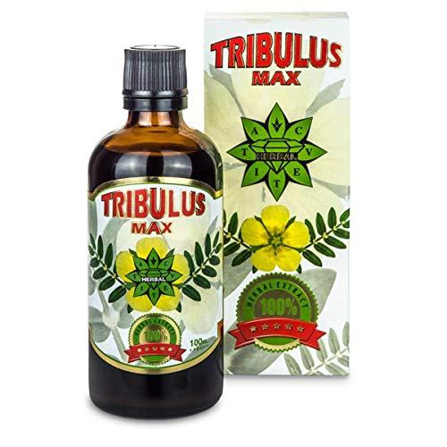 Cvetita Herbal Bulgarischer Tribulus Max 100ml Extract Serum Original Tribulus Terrestris, Testosteron Booster, Muskelaufbau Geeignet für Vegetarier (100ml)