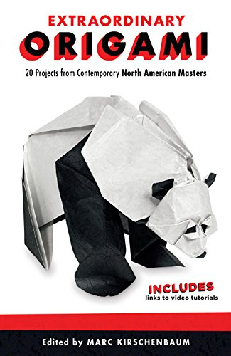 Compare Textbook Prices for Extraordinary Origami: 20 Projects from Contemporary American Masters Fox Chapel Publishing Step-by-Step Instructions for Frogs, Bees, Butterflies, Birds, Pandas, a Harlequin, Santa, and More First Edition ISBN 9781565239494 by Kirschenbaum, Marc