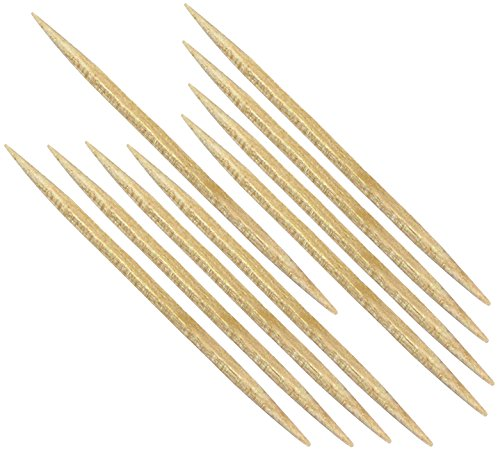 Forster Toothpicks  Round with Square Center  4800 Count
