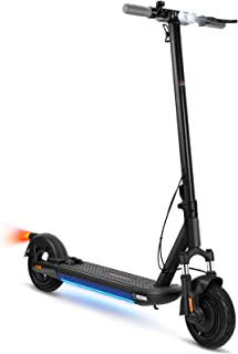 VORCOOL Electric Scooter, Electric Kick Scooter 10-inch Inflatable Tires, 500W Motor, Max 30KM/ H, Motorized Scooter for A...