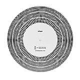ZOUCY LP Disco de Vinilo Placa giratoria Fono Tacómetro Calibración Estroboscópico Disco Estroboscopio Mat 33 45 78 RPM
