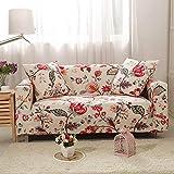 WXQY Funda elástica para sofá, Funda elástica para sofá, sillón en Forma de L, Funda combinada para sofá, Toalla, Funda para sofá, Funda Protectora para Muebles A14, 1 Plaza