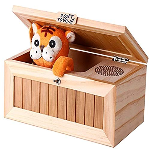 ZXF5 Wooden Useless Box Leave Me Alone Box Most Useless Machine Don