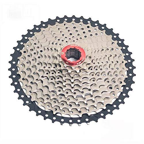 Lijincheng Ruedas Libres Castete 11 Speed Freewheel 11-46T Relación De Ancho PUNTECHILLA DE Vuelo para MTB Piezas De Bicicleta De Montaña para Shimano SRAM Sistema (Color : 11S 11 to 46T)