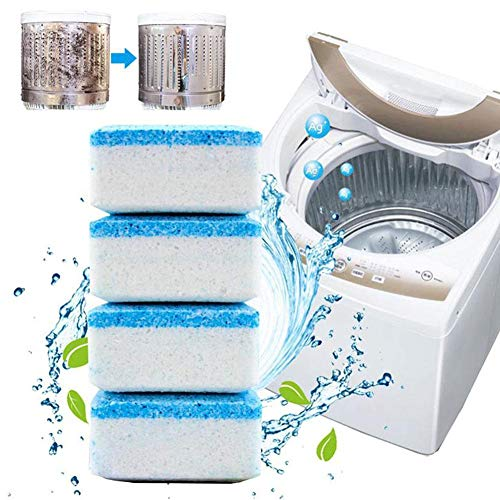 ZHIXX MALL 20 Stück Reinigungstabletten massiv Waschmaschine Reiniger Brausetabletten
