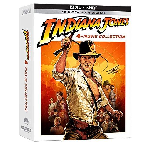 Indiana Jones 4-Movie Collection 4K UHD Disc + Digital $49.99 - Amazon