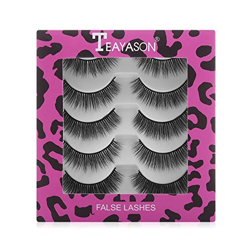 Woman's Fashion Eye Makeup Tools Wispies Fluffies Natural Long False Eyelashes Multilayers 100% 3D Mink Hair 3D Mink Eye Lashes(1)