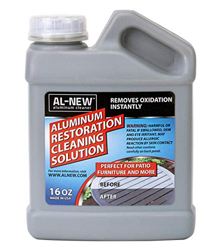 AL-NEW Aluminum Restoration Cleaning Solution | Clean & Restore Patio