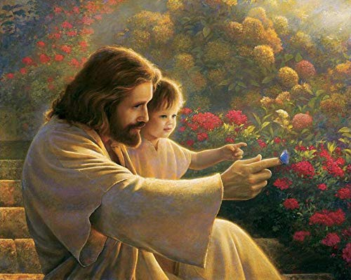 5D diamond painting kit for adults and children Cross jesus christ Full diamond diamond painting mural diamond cross stitch art craft painting