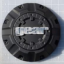 CAP-718B / Gear Alloy Carbon Black Bolt-On Center Cap