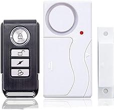 Venster of deursensor Pack van 2 deur alarmsensor geactiveerd venster alarm 103dB sirene beveiligingsinvoer Home inbreker...