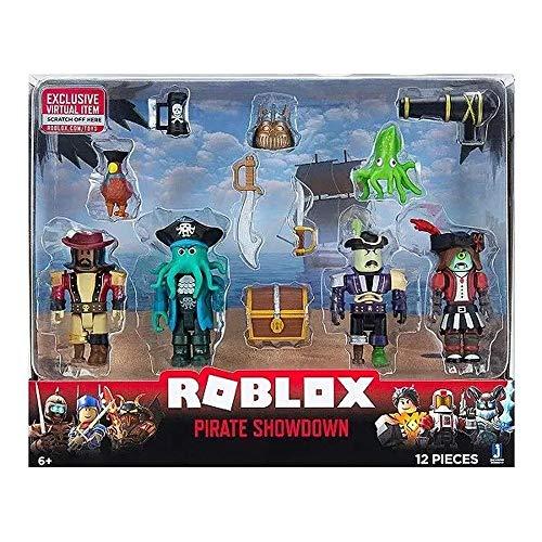 Roblox - Pack Com 4 Figuras