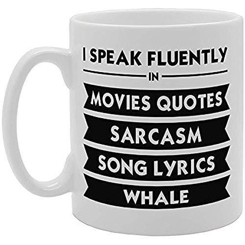 Hablo con fluidez en las películas Citas Sarcasmo Letras de canciones