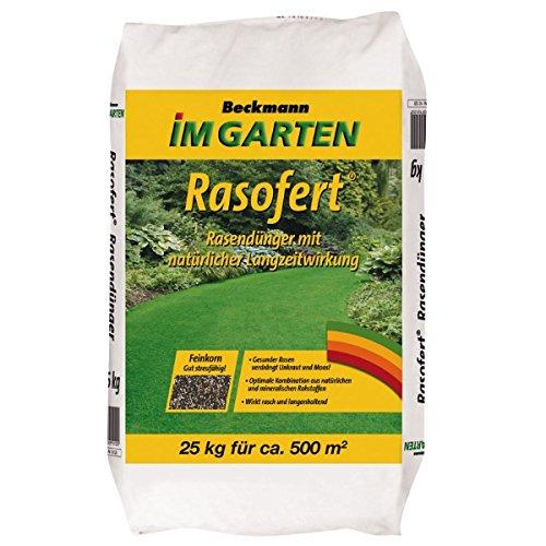 Rasendünger Rasofert organisch-mineralisch 25 kg