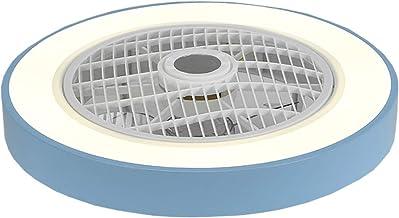 ACHNC Plafondventilator met verlichting, led, dimbaar, met afstandsbediening, stil, 3 snelheden instelbaar, kinderkamer ve...