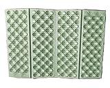1pcs Waterproof Foldable Folding Foam Mat Chair Cushion Seat Pads (Blue, Green, Red, Orange, Purple.) (Green)