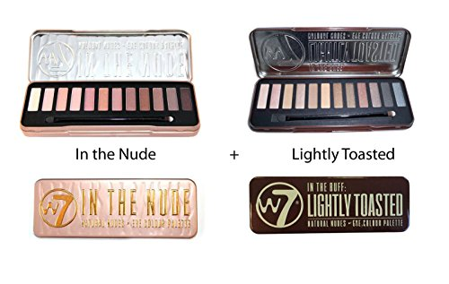 W7 (W7 In the Nude+ Lightly Toasted)