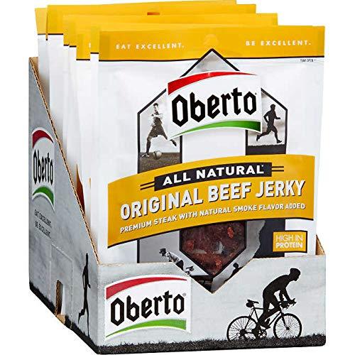 Oberto All Natural Beef Jerky, Original, 1.5 oz, 12 ct
