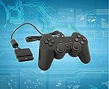 Controlador PS2 para PS2 Playstation 2 con vibración de choque con cable