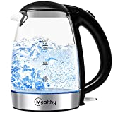Best Glass Electric Kettles - Mealthy Electric Glass Kettle - BPA-Free, 1.7 liter Review